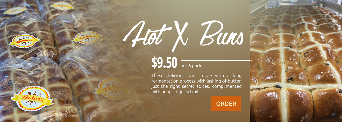 Order our Hot X Buns