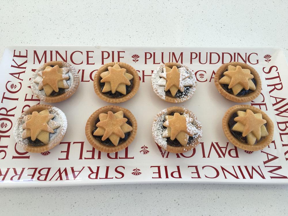 Christmas Mince tarts
